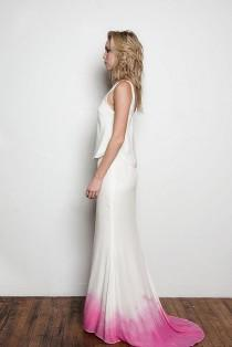 wedding photo - Beyond White: 15 Ombre Wedding Gowns