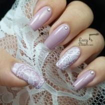 wedding photo - Wedding Nail Art