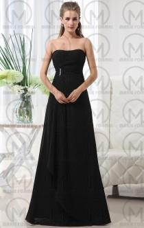 wedding photo -  Black Bridesmaid dresses for your big day