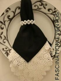 wedding photo - Napkin Couture