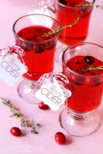 wedding photo - Warm Berry Cider