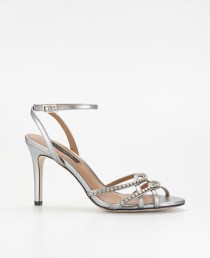 wedding photo - Strappy Crystal Sandals