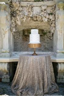 wedding photo - SILVER SEQUIN TABLECLOTH, Select Your Size, Silver Wedding Tablecloth, Silver Glitter Tablecloth, Silver Sparkly Tablecloth