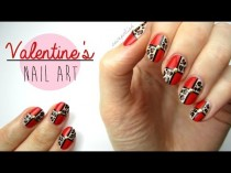 wedding photo - Nail Art For Valentine's Day: Leopard Blocking!