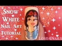 wedding photo - Snow White Nail Art Tutorial