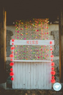wedding photo - Neon Wedding Theme Inspiration