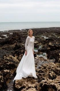 wedding photo - Maria Senvo 'On Edge' Collection ~ Edgy, Fashion Forward Bridal Wear