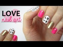 wedding photo - Nail Art For Valentine's Day: Love Mix & Match Design!
