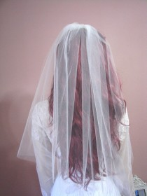 wedding photo - Dreamy Sheer Wedding Veil