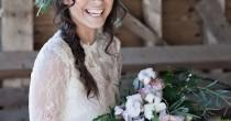 wedding photo - Beautiful Barn Wedding Inspiration Shoot: A Winter's Romance