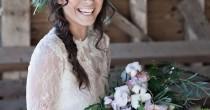 wedding photo - Beautiful Barn Wedding Inspiration Shoot: A Winter's Romance