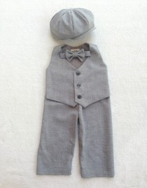 wedding photo - Ring bearer outfit, Ring Bearer, Newsboy Outfit, Baby boy suit, Boys suits, Baby boy wedding outfit, Baby ring bearer, toddler ring bearer