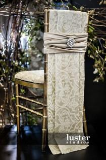 wedding photo - Wedding Chair Decor