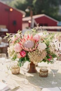 wedding photo - Summer Centerpiece