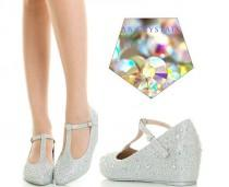 wedding photo - Trawling eBay's sparkly wedding shoes, so that you don't have to!
