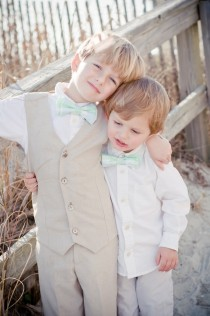 wedding photo - Custom Boys Ring Bearer Outfit--Vest and Pants--Portraits, Church--Available in a Variety of Colors---Size 12mth-4T---Perfect for Weddings