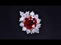 wedding photo - Ruby And Diamond Ring
