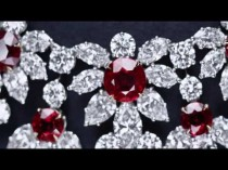 wedding photo - Ruby And Diamond Necklace