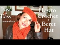 wedding photo - Howto Crochet A Beret Hat