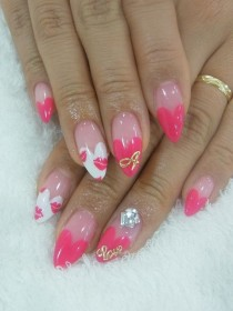wedding photo - Stiletto Nails - Nail Trends - Nail Art