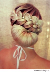 wedding photo - UPDO