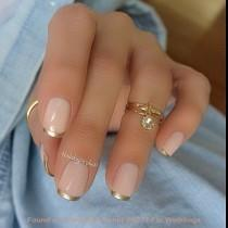 wedding photo - 22 Awesome French Manicure Designs