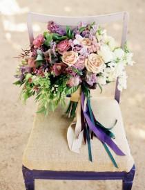 wedding photo - 12 Stunning Wedding Bouquets - 30th Edition