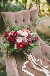 wedding photo - Garden Wedding Inspiration With Antique Details