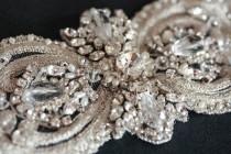 wedding photo - Wedding Sash belt -  Italia 10 inches  (Made to Order)
