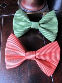 wedding photo - Dog Bowtie, Doggie Bowtie - Handmade Dog Collar Accessories - Small, Medium and Large Sizes