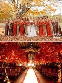 wedding photo - Fall Wedding: 10 Ways To Rock Your Fall Wedding