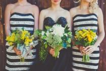 wedding photo - The Black and Gold Bridal Bustier Gown/Wedding Dress As seen on RuffledBlog.com