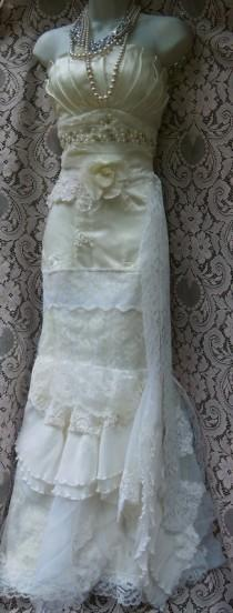 wedding photo - RESERVED for Jorden Second installment  for custom  wedding dress by vintage opulence on Etsy