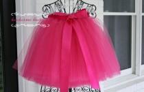 wedding photo - hot pink tutu, flower girl dress, sewn tutus, chic tutus, luxurious tutus