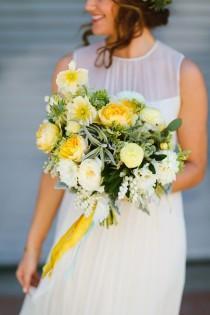 wedding photo - Luce Loft Wedding With A Citrus Color Palette