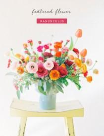 wedding photo - Flower of the Month: Ranunculus