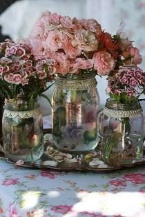 wedding photo - Vintage Jars