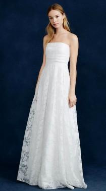 wedding photo - Georgiana Burnout Floral Organza Gown