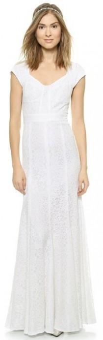 wedding photo - Diane von Furstenberg DVF Maio Lace Dress