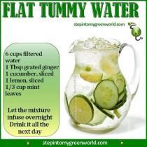 wedding photo - Flat Tummy Water