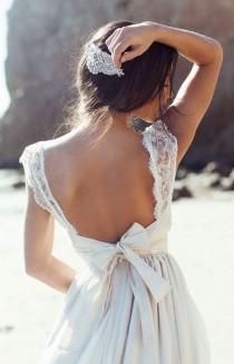 wedding photo - Mariage : 100 Robes De Mariée Vues Sur Pinterest Pour S'inspirer