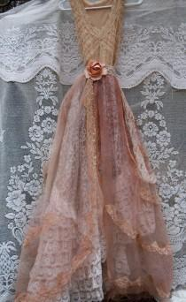 wedding photo - RESERVED for Ashley  deposit for custom Lace Wedding Dress by vintage opulence on Etsy