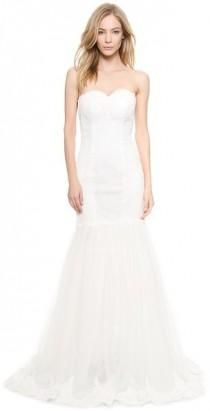 wedding photo - Love, Yu Paige Sweetheart Strapless Mermaid Gown