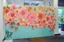 wedding photo - Wedding PAPER FLOWERS