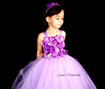 wedding photo - Custom flower Girl Dress for Courtney Dawne
