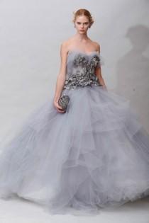 wedding photo -  Grey Wedding Color Inspiration