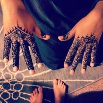 wedding photo - Henna-mehndi