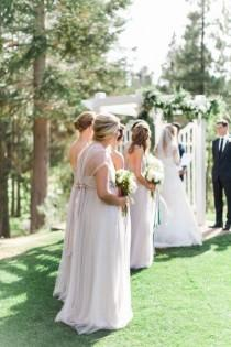 wedding photo - Rustic Meets Romantic Lake Tahoe Wedding
