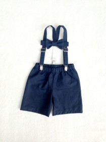 wedding photo - Ring Bearer set, Boys outfit, Suspenders Set, Baby boy suit, Braces tie shorts, Ring Boy Outfit, fourtinycousins, Toddler boy, baby boy prop