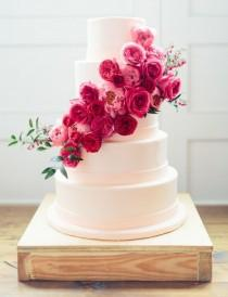 wedding photo - A Spectrum Of Gorgeously Pink Wedding Ideas